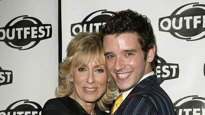 Judith Light and Michael Urie arrive at Outfests Legacy Awards Honors Judith Light and Showtime at The DGA.