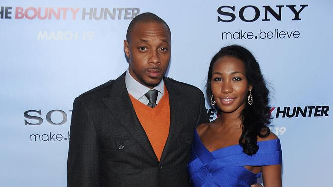 The Bounty Hunter NY Premiere 2010 Dorian Missick