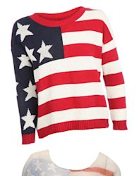 Celebrate the 4th of July with these print-appropriate jumpers…