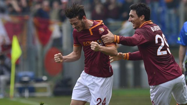 Serie A - Florenzi overhead kick sets up Roma win