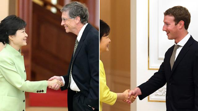 Mark Zuckerberg Charms South Koreans With 'Proper' Handshake