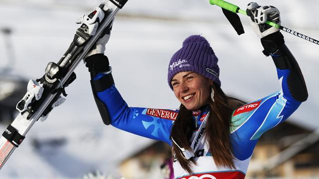 Alpine Skiing - Maze wins St Anton Super-G race