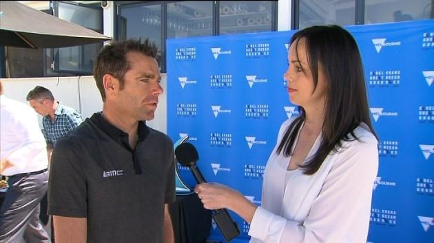 Cadel Evans launches new road race