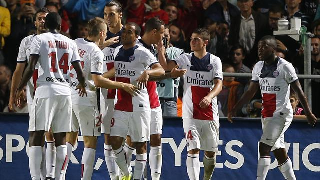 Ligue 1 - PSG go top with win at Bordeaux