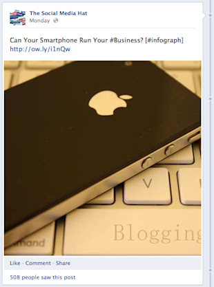How to Format Your Social Media Posts for Optimum Engagement image Facebook Status