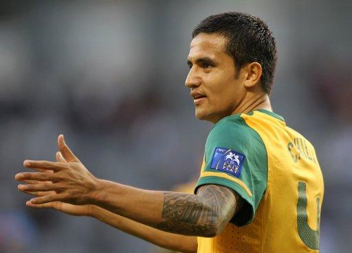 Australia's striker Tim Cahill, pictured in 2011