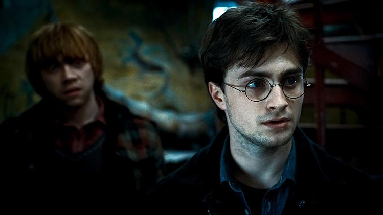 Harry Potter and the Deathly Hallows pt 1 2010 Rupert Grint Daniel Radcliffe