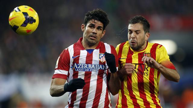 Liga - Barca full back Alba out of Sociedad trip