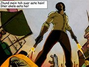 BULLETT RAJA's promotions kick start with a graphic novel