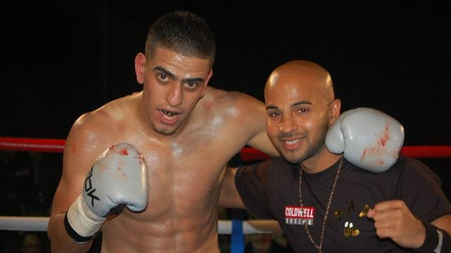 Boxing - Mansouri set to defend English title against Matthew Mallin after Mark Thompson withdrawal