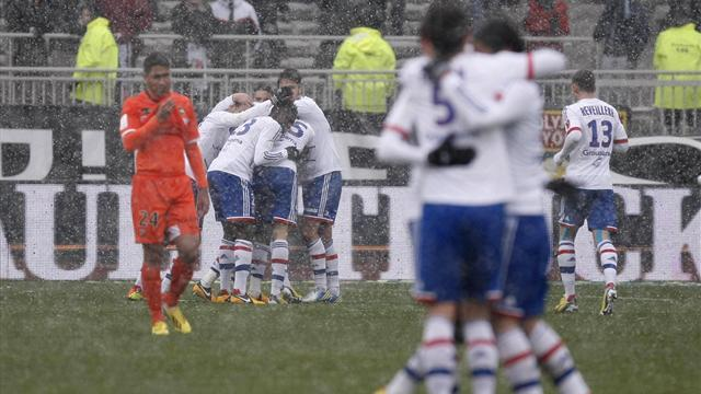 Ligue 1 - Ghezzal helps Lyon beat Lorient