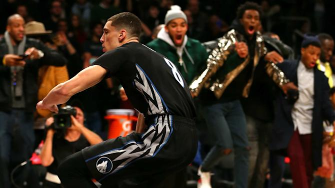 Zach LaVine and Aaron Gordon show why the dunk contest can never die