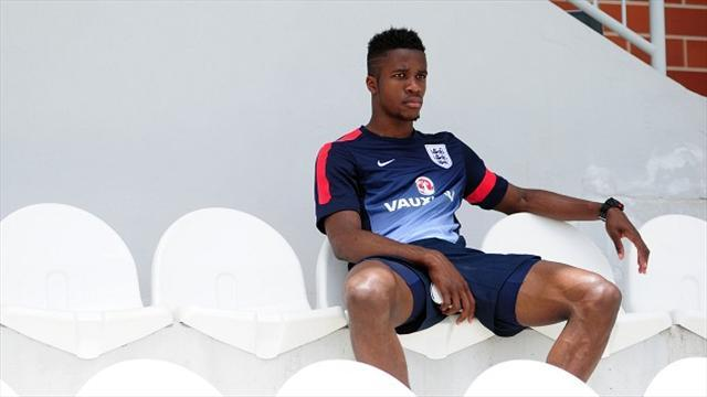 Football - Zaha on bench for Young Lions