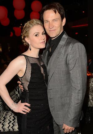 "Stephen Moyer Gushes About Wife Anna Paquin's ""Amazing"" Pregnancy"