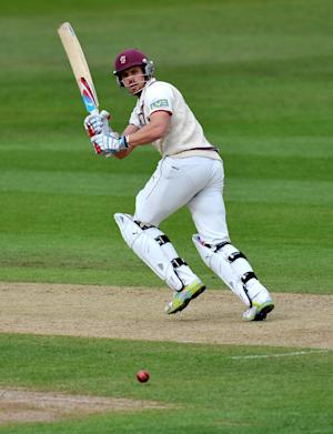 Nick Compton is unbeaten on 54 runs in England's final warm-up match against Haryana