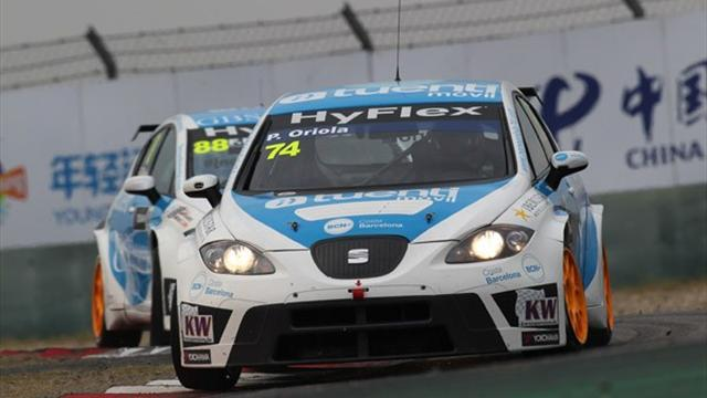 WTCC - Oriola targets top six in 2013