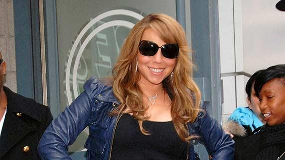 Mariah Carey leaving Htl GeorgeV