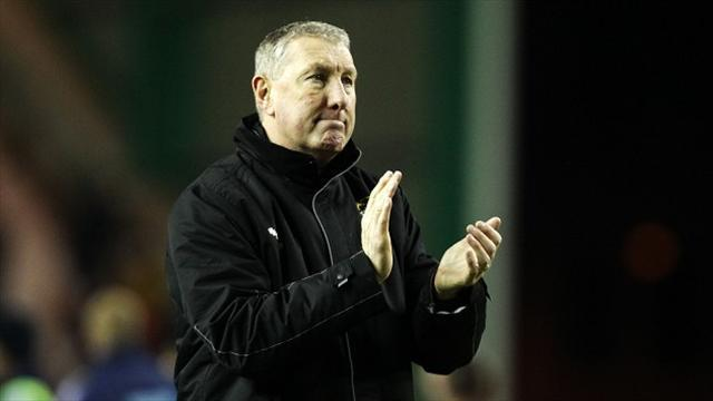 Football - Butcher rues missed chances