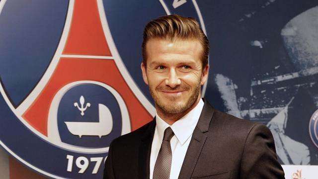 Ligue 1 - Beckham set for PSG debut against Marseille