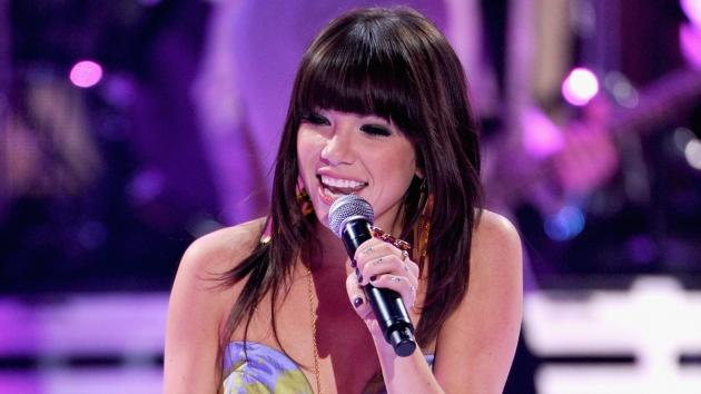Carly Rae Jepsen performs onstage during the 2012 Teen Choice Awards at Gibson Amphitheatre in Universal City, Calif. on July 22, 2012 -- Getty Images