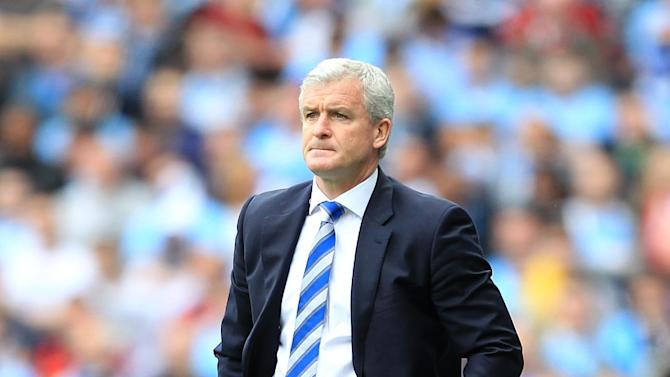 Mark Hughes, pictured, has been backed by Tony Fernanded on Twitter