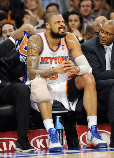 Knicks' Chandler to miss 4-6 weeks with broken leg