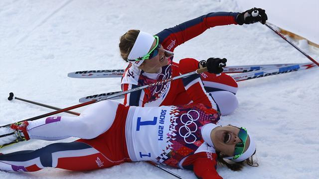 Cross-Country Skiing - Norway's Falla wins women's sprint title