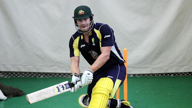 Shane Watson is recovering well from a calf injury