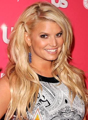 Jessica Simpson Drinks Water, Not Alcohol, on Saturday Night