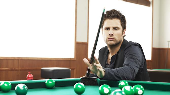 """James Roday as Shawn Spencer in """"Psych."""""""