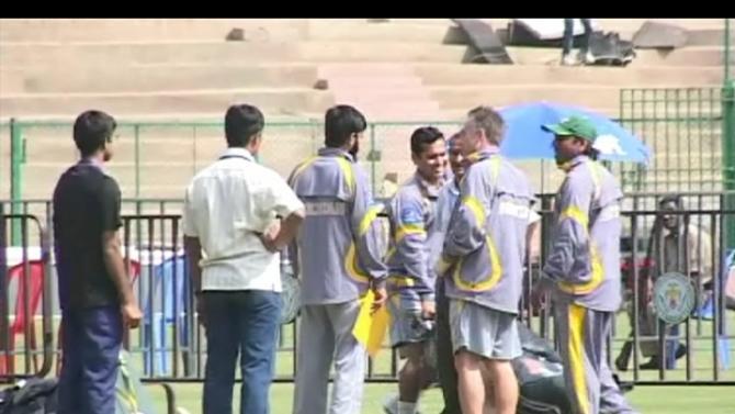 Pakistan practice, Bangalore-23 December