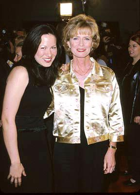 Shannon Lee and Linda Lee Cadwell at the Westwood premiere of Warner Brothers' Romeo Must Die