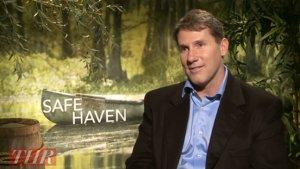 Nicholas Sparks on 'Safe Haven's' Box Office Prospects: 'It'll Do Fine. They All Do' (Video)