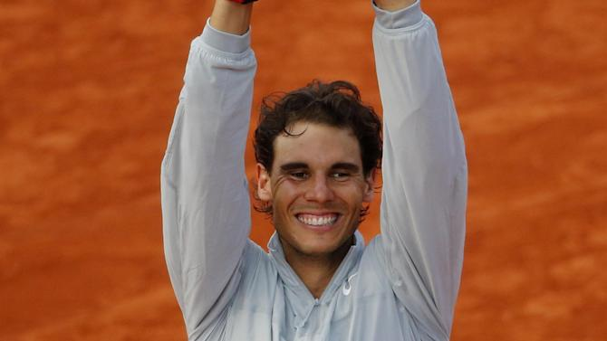 Tennis - Record-collector Nadal closes in on Federer's hoard
