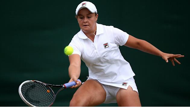 Former tennis starlet Barty switches to cricket