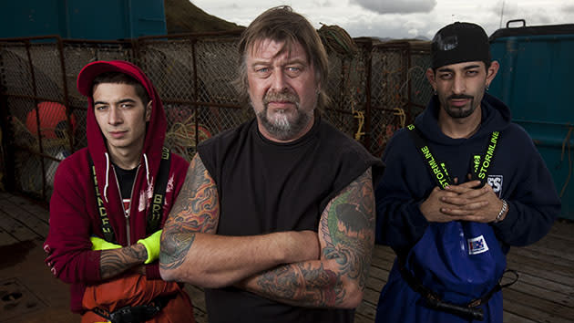 """Deadliest Catch"" Season 6: Phil Harris, Jake Harris, & Josh Harris"