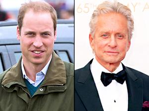 Prince William Goes Back to School, Michael Douglas and Catherine Zeta-Jones Reunite: Top 5 Stories