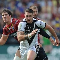 Kurt Haggerty, centre, has been released by Widnes