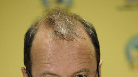 THe Chief Executive Officer Of The South African Football Association (SAFA), Robin Petersen, Attends AFP/Getty Images