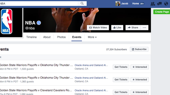 The NBA's official Facebook page already revealed which teams will be playing in the Finals