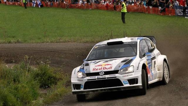 WRC - Ogier on brink of win in Wales