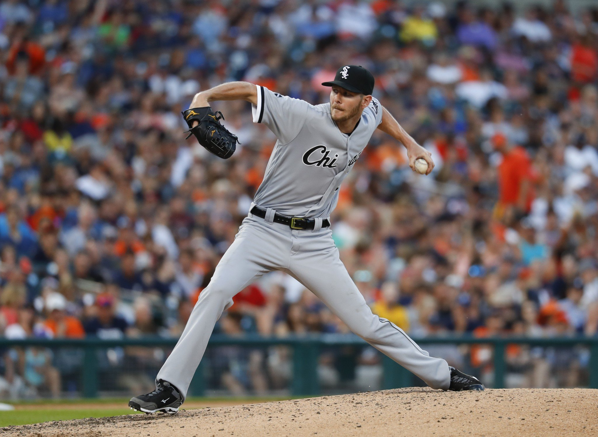 Progress was made Monday night in Chris Sale trade talks between the Nats and the White Sox. (AP)