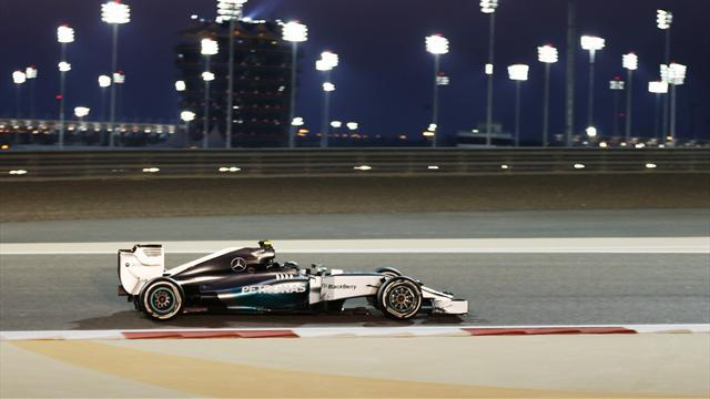 Bahrain Grand Prix - Mercedes dominant as Rosberg takes pole ahead of Hamilton