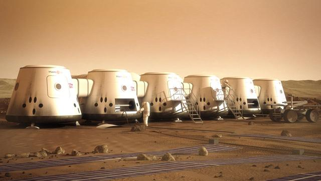 Company Offers One-Way Trip to Mars