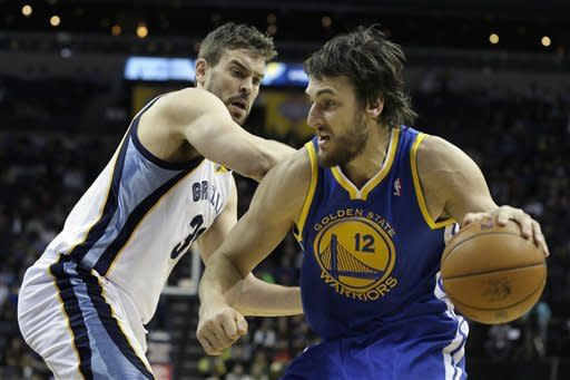Grizzlies upend Warriors 99-93