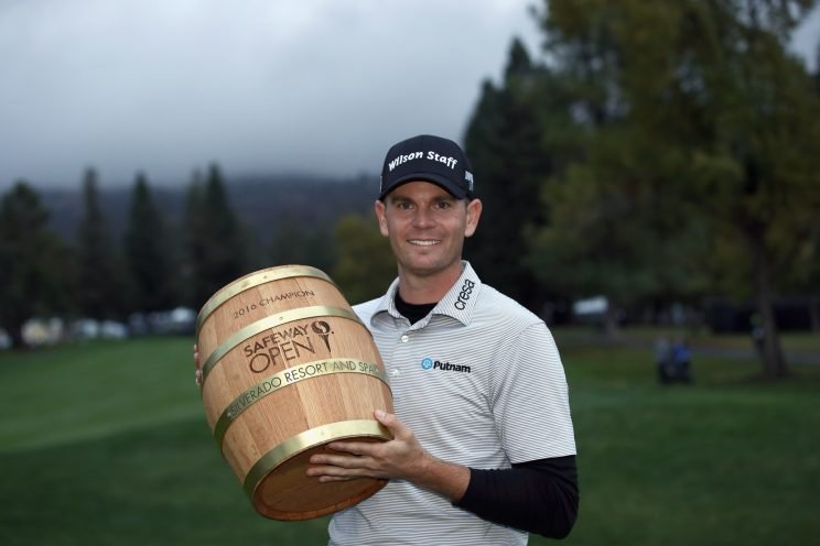 Brendan Steele won for the second time on the PGA Tour. (Getty Images)