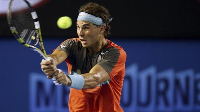 Australian Open - Imperious Nadal routs Monfils in Melbourne