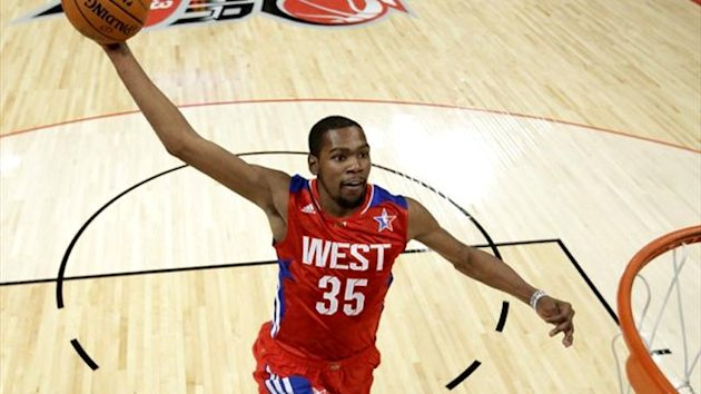 NBA East All-Star Kevin Durant (Reuters)