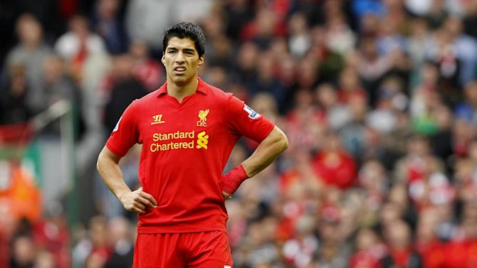 Steven Gerrard says Luis Suarez, pictured, is the best striker he has played with