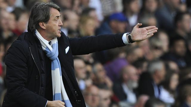 Premier League - Managers: Mancini 'didn't see' penalty claim